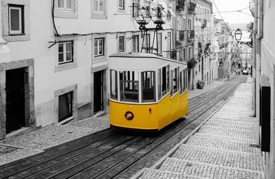 Lisbon No.28 Tram
